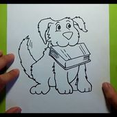 Como dibujar un perro paso a paso 22 | How to draw a dog 22