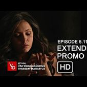 The Vampire Diaries 5x11 Extended Promo - 500 Years of Solitude [HD] The 100th episode