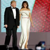 Trump's fashion on display at inaugural ball