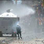 For a third day, police, protesters clash in Turkey