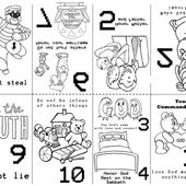 Preschool 10 Commandments