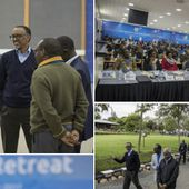 Criminal Paul Kagame and his family control around 80% of business transactions in Rwanda