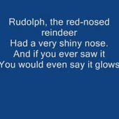 Rudolph The Red Nose Reindeer With Lyrics