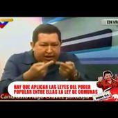 """Comandante Chávez: """"Necesitamos engranajes superiores para darle concreción al poder popular"""""""
