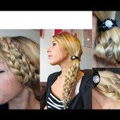Tuto Coiffure #44 : Tresse Multi-Brins, 3 versions / Multi-Braids Easy Hairstyle