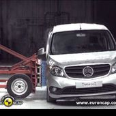 Euro NCAP | Mercedes Benz CITAN Kombi | 2013 | Crash test