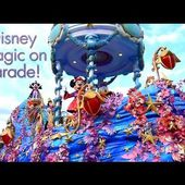 Disney Magic On Parade (Magic Everywhere) - Disneyland Paris - Full Show HD