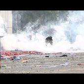 Casseurs contre CRS: les riverains témoignent -- 14/05