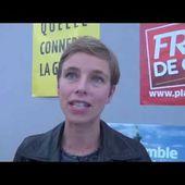 """Clémentine Autain: """"Le Front de gauche est un bien commun qui dépasse le PCF et le PG"""""""