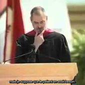 Si vous n'avez pas encore pris vos résolutions, ce discours de Steve Jobs pourrait vous inspirer