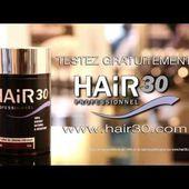 Hair30, la poudre de cheveux pour masquer la calvitie