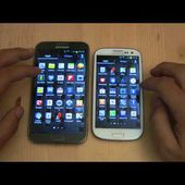 Samsung Galaxy Note 2 vs Samsung Galaxy S3 | La Sfida in video by HDblog