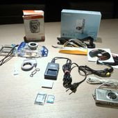 Canon IXUS-60 + waterproof case 40m to sell - à vendre - te koop!