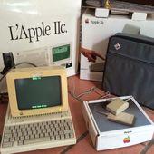 Apple IIc en boite et MSX Pioneer PX-7