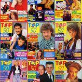Le magazine Top 50 et ses posters par Nath-Didile - Les petits dossiers des Copains d'abord