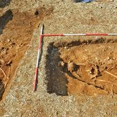 Nether Heyford graves of girl and soldier could shed light on Dark Ages - BBC News