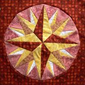 Couture sur papier / Paper foundation piecing - Quilting, Patchwork & Appliqué