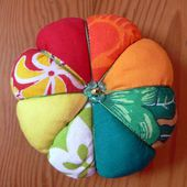 Pique-aiguilles des îles / Pincushion from the islands - Quilting, Patchwork & Appliqué