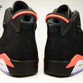 Nike Air Jordan VI Rétro 2014 Black Infrared