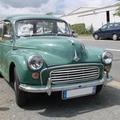 Gros plan: Morris Minor