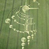 """L'énigme des """"crop circles"""" - élévation"""
