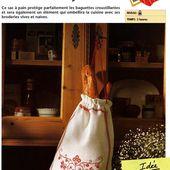 [Broderie] Le sac à pain tyrolien - La Boutique du Tricot et des Loisirs Créatifs