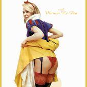 Marion Le Pen... blanche comme neige ! - PhotoMONTAGE d'SB le Sniper