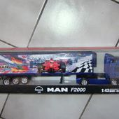 CAMION MAN F2000 NEWRAY 1/43 - car-collector.net