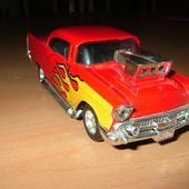 CHEVY 57 HOT ROD MAJORETTE 1/32 - car-collector.net