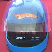 REVEIL DIGITAL CASQUE INTEGRAL HOT WHEELS - car-collector.net