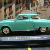 FASCICULE N°15 STUDEBAKER CHAMPION 1950 1/43 ROAD SIGNATURE - car-collector.net