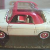 FASCICULE N°12 AUTOBIANCHI BIANCHINA TRASFORMABILE DECAPOTABLE 1958 - car-collector.net