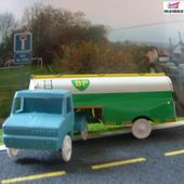 BERLIET STRADAIR 1965 CITERNE BP SESAME 1/65 - car-collector.net