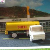 BERLIET STRADAIR CAMION CITERNE ESSENCE SHELL SESAME - car-collector.net