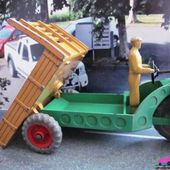 MOTOCART 1949 DINKY TOYS 1/43 CHARIOT AUTOMOBILE MECCANO LTD - TRIPORTEUR - car-collector.net