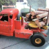 TRACTEUR WILLEME AVEC SEMI-REMORQUE FARDIER DINKY SUPERTOYS 1/43 - car-collector.net