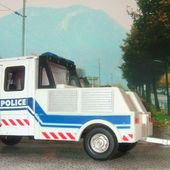 CAMION MERCEDES T1 POLICE HONGWELL 1/43 - car-collector.net