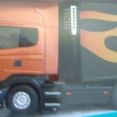 CAMION SCANIA TEKNO 1/50 MADE IN HOLLAND - car-collector