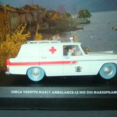FASCICULE N°15 SIMCA VEDETTE MARLY AMBULANCE LE NID DES MARSUPILAMIS - car-collector.net