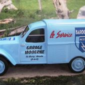 FASCICULE N°1 CITROEN 2CV AZU 1/43 - LA CAMIONNETTE DU GARAGE - car-collector.net