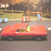 FORD MERCURY COUGAR XR7 FIRE CHIEF CORGI 1/60 - car-collector.net