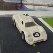 FORD GTJ 1/43 POLITOYS N°586 MADE IN ITALY - car-collector