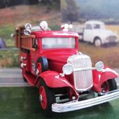 FORD V8 1934 POMPIERS - FIRE DEPT TRENTON - ELIGOR 1/43 - car-collector.net