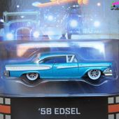 58 EDSEL AMERICAN GRAFFITI HOT WHEELS 1/64 RETRO ENTERTAINEMENT - FORD EDSEL 1958 - car-collector.net