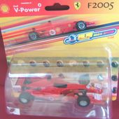 FERRARI F2005 SHELL V-POWER HIGH SPEED 1/38 - car-collector.net