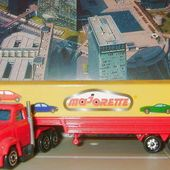 CAMION MAGIRUS SEMI CONTAINER MAJORETTE 1/100 - car-collector.net