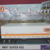 CAMION SUPER RIG SUPER CONVOY MATCHBOX ADVENTURES - car-collector.net