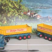 DODGE TRACTOR FRUEHAUF TIPPER CAMION MATCHBOX AVEC REMORQUE - car-collector.net