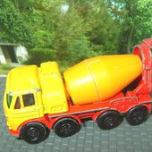 FODEN CONCRETE TRUCK CAMION BETONNIERE MATCHBOX - car-collector.net