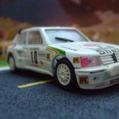 PEUGEOT 205 T16 MONTE CARLO 1986 MICHELE MOUTON VITESSE 1/43 - car-collector.net
